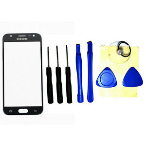 Front Outer Screen Glass Lens Replacement For Samsung J3 2017 Prime J327 J327T