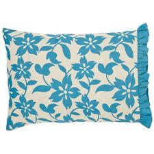 VHC Farmhouse Standard Pillow Case Set 2 Cotton Blend Floral Print 3 Colors