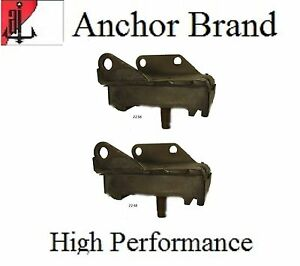 2 PCS Motor Mount Kit for Cadillac Series 62 with 6.0L 365 CI 1957 1958