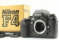 """NEAR MINT+++ in Box"" Nikon F4 35mm SLR Film Camera Body From JAPAN #1372"