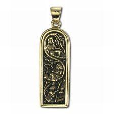 Maiden Mother Crone Triskele Bronze Triple Goddess Dryad Design Pendant #ZTP3012