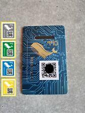Crypto Stamp - CS3 - Wal (neu, ungeöffnet, postfrisch / new, unopened, mint)