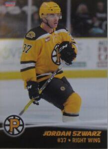 Jordan Szwarz #23 Providence Bruins 16-17 Adler Mannheim MERC