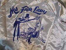 "MY FAIR LADY cast embroidered Jacket ""Scott"" MacMurray of California Large satin"