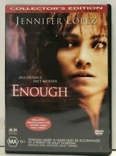 Enough - Jennifer Lopez - Billy Campbell - DVD - Free AUSPost with Tracking