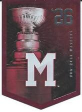 NHL Panini 2012 Coors Light Stanley Cup Collection Montreal Maroons 1926