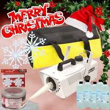Snow Storm II Machine Artificial Snowflake Blizzard 600w inc Fluid, Bag & Props