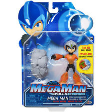 Mega Man Fully Charged Drill Man Schematics Deluxe Figure NEW IN STOCK Toys