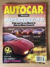 Autocar 14th July 1993 - Supertest '93 Le Mans Vol.197, No. 5033