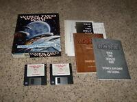 """When Two Worlds War - IBM PC, XT, AT CIB 3.5"""" floppy disks"""