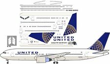 United Boeing 767-300 decals for Revell  1/144 kit