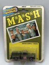 Vintage Kidco Tough Wheels MASH Diecast metal Army Supply Truck #40770-5 New MOC