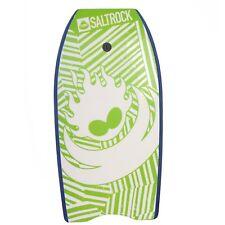 """Saltrock Surf 41"""" Kids Adults Bodyboard Body Board Boogie Board Lime Orange pink"""