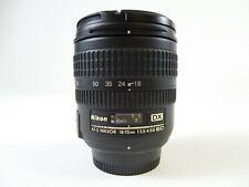 Nikon AF-S Nikkor DX 18-70mm F/3.5-4.5D ED w/ lens caps & in Excellent Condition