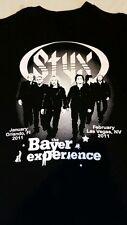 Rare STYX Las Vegas Orlando 2011 Bayer K9 Advantage T-Shirt Mens Size L Large