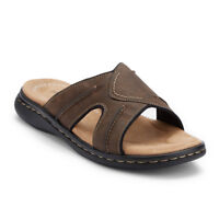 Dockers Mens Sunland Casual Comfort Outdoor Slip-on Slide Sandal Shoe