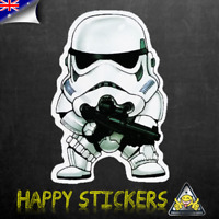 Star Wars Baby Stormtrooper Luggage Car Skateboard Laptop Vinyl Decal Sticker