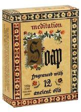 3 X Meditation Range Soaps Blend of 12 Essential Oils Australian Made-100 g Bars