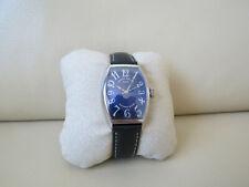 Franck Muller Casablanca Curvex Master of Complications 18K Gold Blue Dial Watch