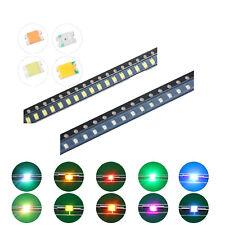 200pcs 10kinds 0805(2012) SMD SMT LED Diodes White Red Blue Mix Kit Lamp Lights