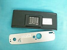 Minolta XG-M 35mm Camera Hinged Back Cover & Bottom Cover Replacement Parts