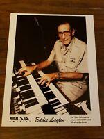 Rare Vintage Eddie Layton Press Photo 8x10 Silva Organist
