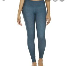 Prana Pillar Leggings Size Medium Teal Polka Dots