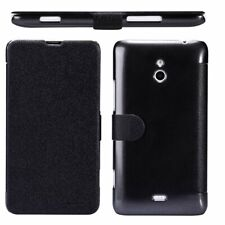 Nillkin Fresh Side Flip PU Leather Cover for Nokia Lumia 1320 (Black) - NEW