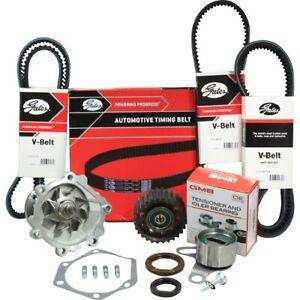 Timing Belt Kit+WP+Fan Belt For Toyota Hilux LN147R LN152R LN167R LN172R 5L 3.0L