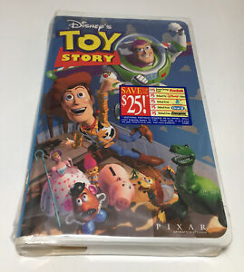 FACTORY SEALED 1995 Toy Story Disney Classic VHS Tape Home Video NEW