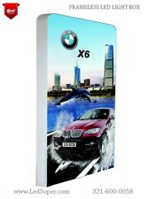 3D Frameless Led Advertising Light box - Indoor and Outdoor use - Custom made