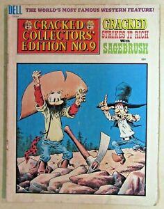 CRACKED MAGAZINE - COLLECTORS EDITION #9 - 1975 - LOW-GRADE READER COPY