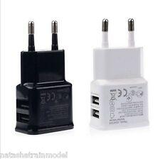 Carica da rete 220V  5V 2A 2 prese USB per smartphone samsung iphone type-c