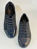 Calvin Klein Men's Shoes Napoleon Suede Midnight Trainers Size UK 9 LAST CHANCE!