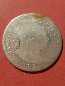 UK 1817 Half Crown (925 Silver)