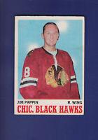 Jim Pappin 1970-71 O-PEE-CHEE OPC Hockey #13 (VGEX) Chicago Blackhawks