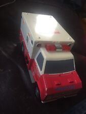 CITY FORCE RESCUE TEAM AMBULANCE (RED) by FunRise with Working Siren Voice 1992