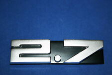 ORIGINAL PORSCHE 911 2.7 CARRERA REAR GRILL BADGE / EMBLEM  NEW 91155901503