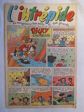 L'INTREPIDE 345  ANNEE 1956