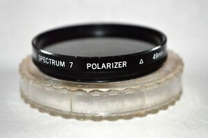 Promaster Spectrum 7 49 mm Polarizer Filter with Case Made in Japan (T-177)