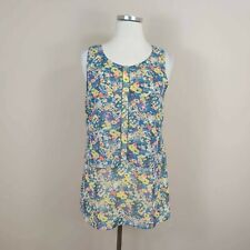 CABI Size XS Positano Layered Floral Tank Top #5041