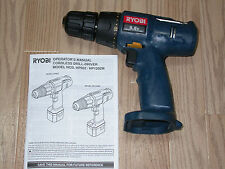 RYOBI 9.6V HP962 3/8 in. DRILL DRIVER BARE TOOL ONLY BRAND NEW