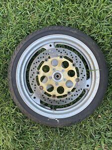 2001 Suzuki GS500 Front Wheel Rim Rotor 2002 2003 2004 2005 2006 2007 2008 2009