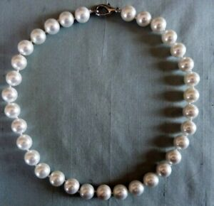 """BEAUTIFUL CHUNKY PEARL NECKLACE 19"""" LONG"""