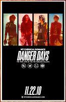 MY CHEMICAL ROMANCE Danger Days Ltd Ed Discontinued RARE Poster Display! MCR