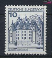 BRD 913II PF I, schräger Bruch im Dach unter CH postfrisch 1977 Burge (9229830