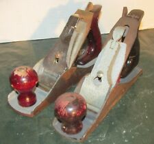 Lot of 2 Vintage Smooth Planes No.3 & 4 Size Corsair and Other U.S.A. LQQK!