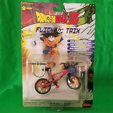 Dragon Ball Z Flick-n-Trix #3 Goku Finger Bike - Unopened Perfect Condition
