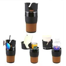 4 in 1 Multi Car Van Storage Drinking Bottle Can 2 Cup Mug Mount Holder Stand