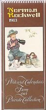 Norman Rockwell 1983 Picture Postcards Calendar